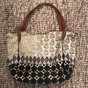Jasper & Jeera Large Embroidered Tote